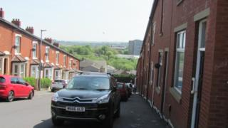 Terraced houses in Bastwell