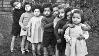 children in a children